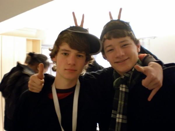 Das Radio-Aktuell-Team: Felix und Carsten
