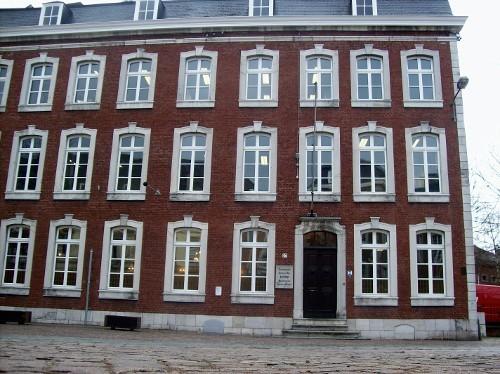 Gerichtsgebäude in der Gospertstraße
