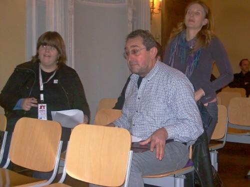 Grenz-Echo-Redakteur Werner Keutgen im Einsatz