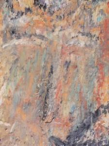Ikone X , Mischtechnik auf Holz, 19 x 25 cm, 2006