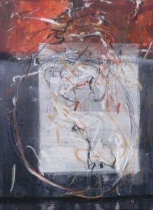 SARINA, Mischtechnik auf Leinwand, 100 x 120 cm, 2005