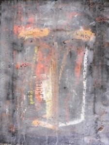 Ikone IX , Mischtechnik auf Holz, 19 x 25 cm, 2006