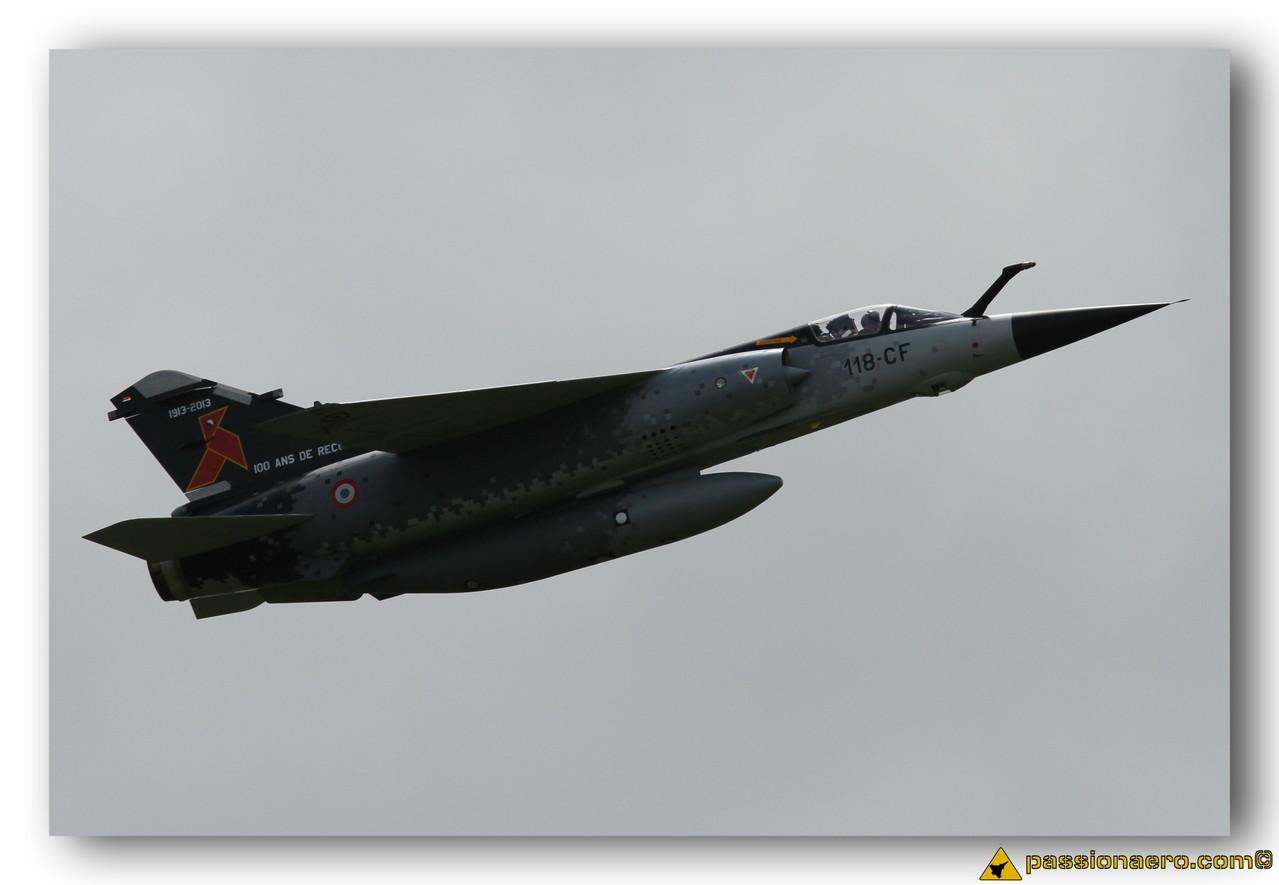 Mirage F1CR décoré Cocotte