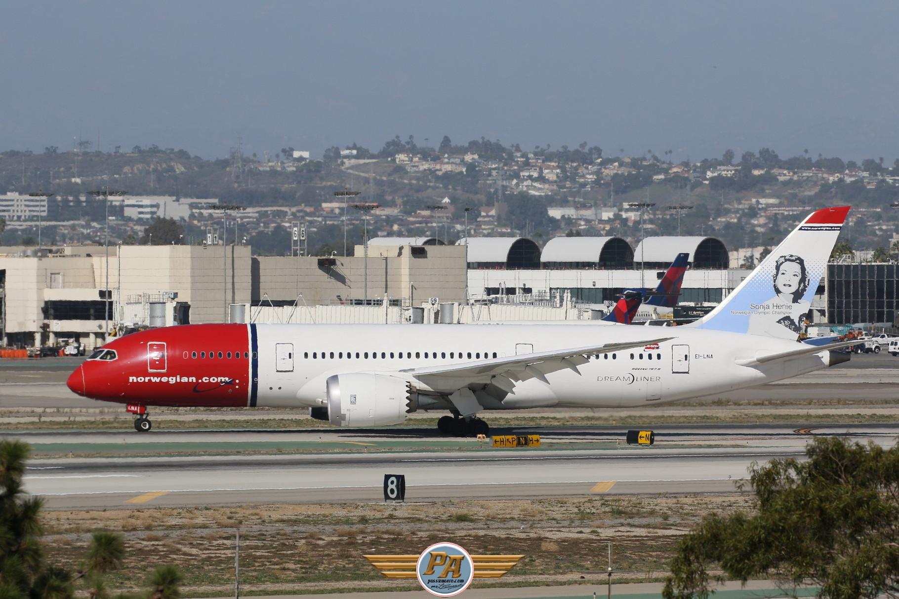 "Boeing 787-8 Dreamliner ""Norwegian"" immatriculé EI-LNA"