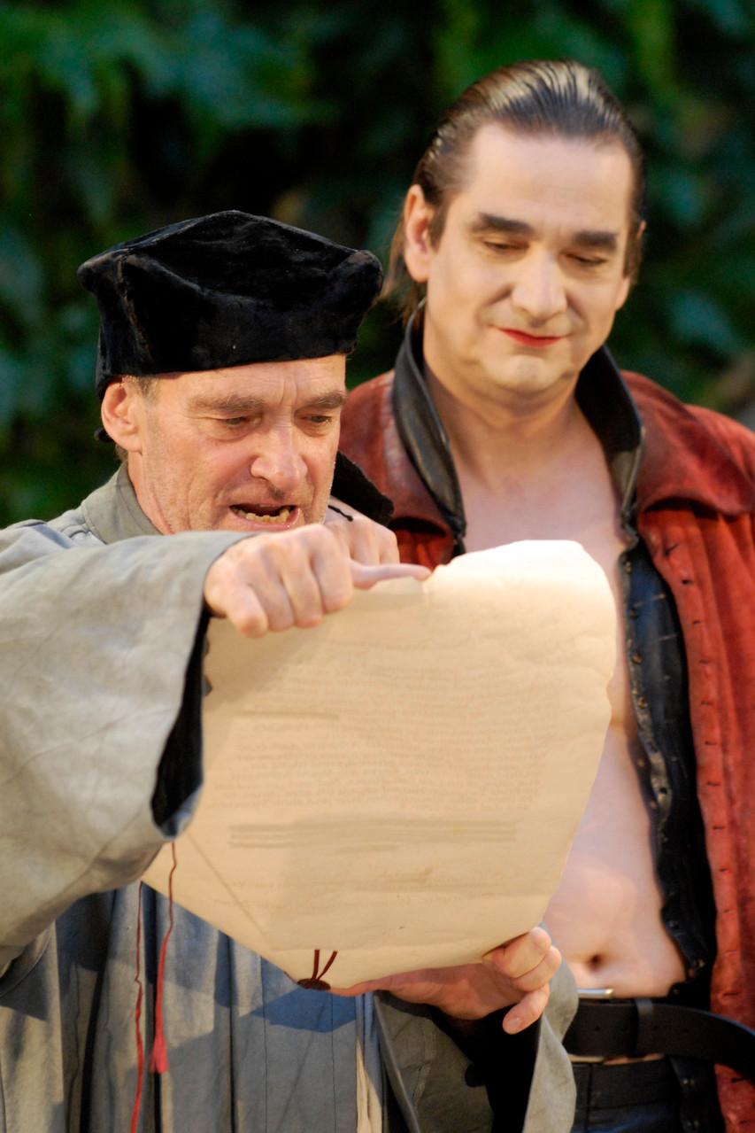 Faust: Faust und Mephisto (Urs Bihler, Gilles Tschudi)