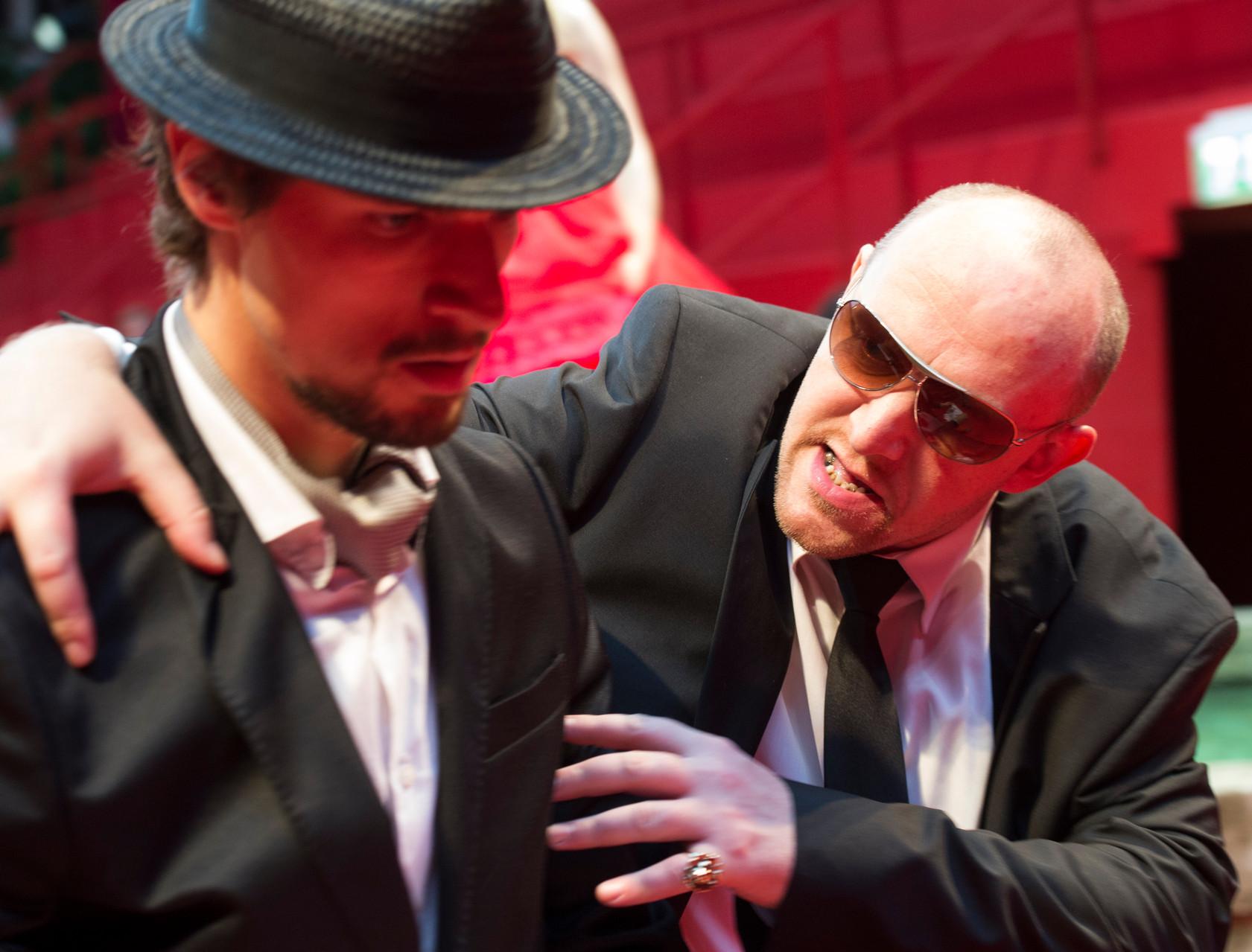 Viel Lärm um nichts: Robert Rosic als Claudio und Andre Meyer als Don Pedro