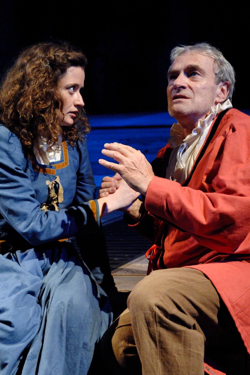 Faust: Margrethe und Faust (Ute Sengebusch, Urs Bihler)