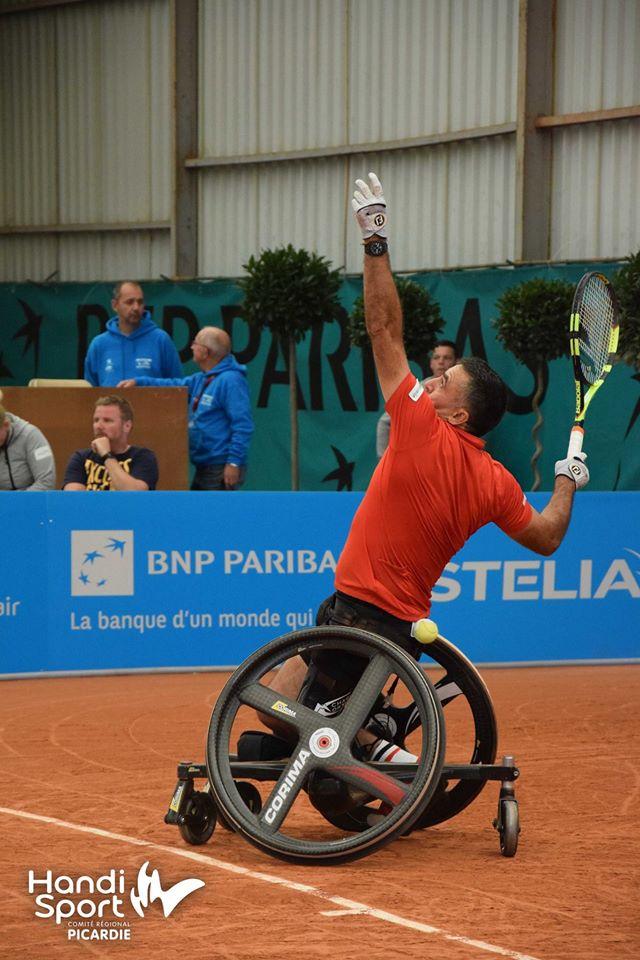 Stéphane Houdet - N°2 mondial - Champion Paralympique en double tennis fauteuil aux Jeux de Rio
