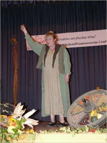 Brigitte Koischwitz in Aktion