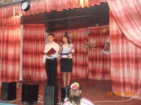 День незалежності проведено спільно із сільським клубом