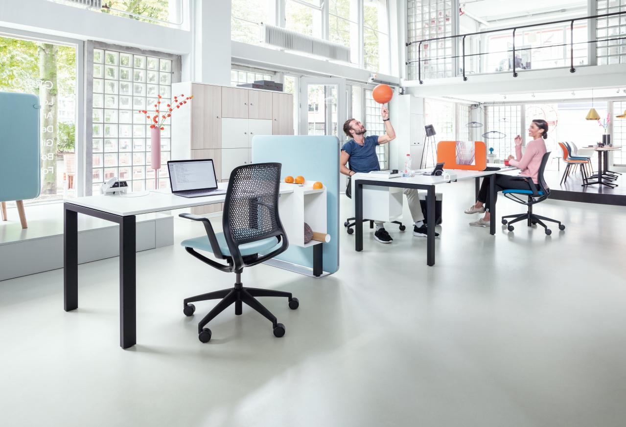 Büroeinrichtung 3D-Planung