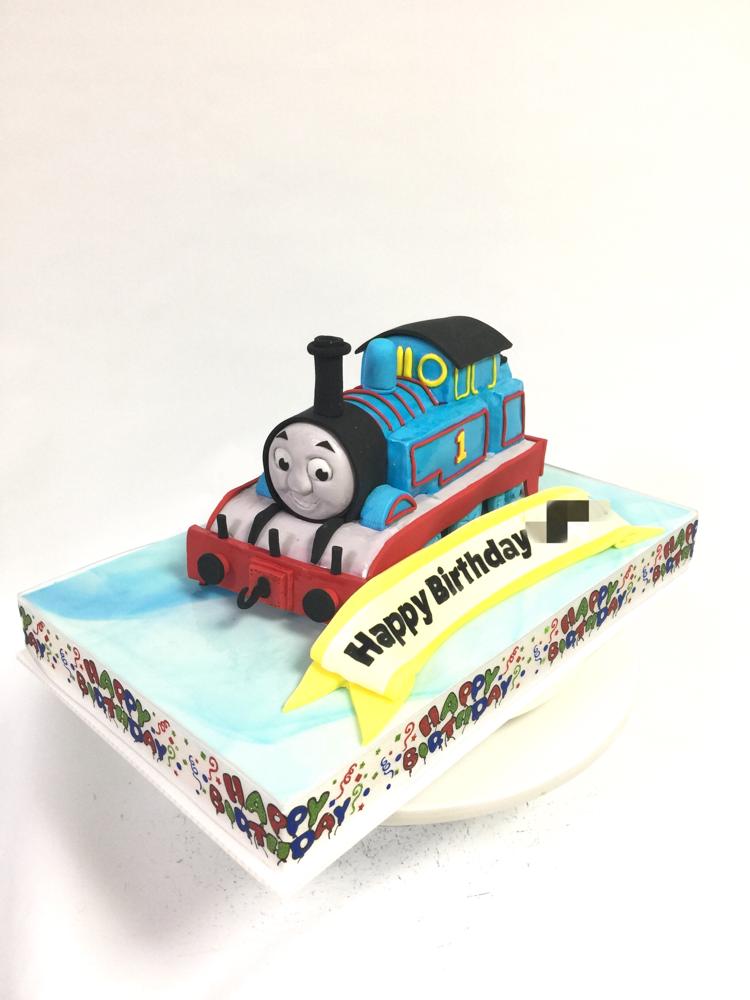 トーマス🚂🍰 #トーマス #トーマスケーキ #機関車トーマス #機関車 #thomasthetankengine #thomascake #cake #character #gateau #torta #ケーキ #🇯🇵
