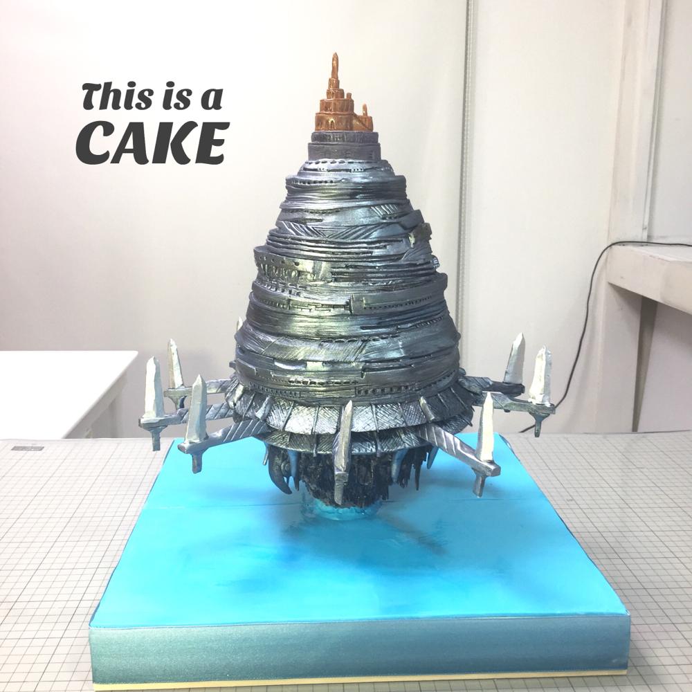 ソードアートオンライン『SAO』 浮遊城アインクラッド のケーキ🍰  facebook ページTokyoOtakuMode で ケーキ製作動画が公開されています✨✨エムケーキのfacebookページでもシェアさせていただきました。 #アニメ #swordartonline #sao #ソードアートオンライン #浮遊城アインクラッド #アインクラッド #浮遊城 #ケーキ #swordartonlinecake #aincrad #anime #gateau #torta #cake #handmade #japanesemade #🇯🇵 #animecake