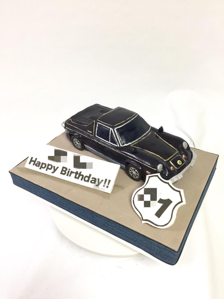 #ロータスヨーロッパ #クラシックカー  #1974 #ロータス #英国車 #🇬🇧 #スポーツカー #誕生日ケーキ #車ケーキ #LotusEurope #lotuscars #lotuseurope #lotus #europe #oldcar #classiccar #sportscar #carcake #cake  #handmade  #fondantwork #fondantcake #pateasucre #sekerhamuru #pastadizucchero #🇯🇵#Japan #japanmade