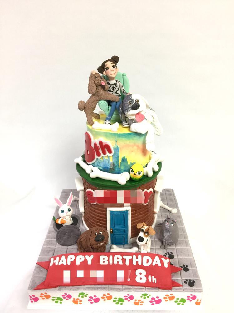 #愛犬家 #愛犬 #ペット #犬大好き #可愛いワンコ #犬 #猫 #トイプードル #フサフサ犬 #2段ケーキ #ケーキ #🎂 #🐶#thesecretlifeofpets #lifeofpets #dog #cat #kids #cake #birthdaycake