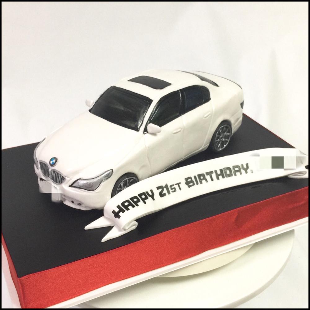 #BMW #carcake #ビーエム #5シリーズ #誕生日ケーキ #車ケーキ #外車 #bmw5 #5series #white #bimner #carporn #whitecar #germanycar  あっという間に3月ですね〜🌪 毎日が秒速過ぎ😀  #japan #fondantcake #pateasucre #sekerhamuru #pastadizucchero #🇯🇵