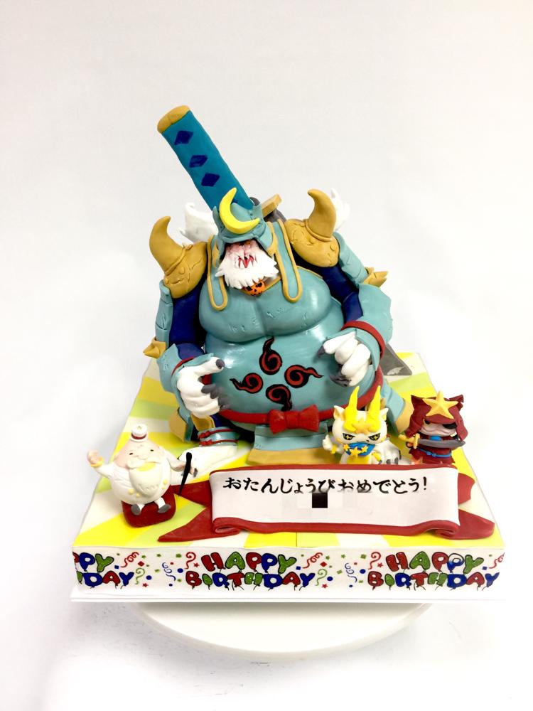 #ラスボス #ブシ王 #月兎組 #ブシ王ケーキ #ブルジョワG #ラストブシニャン #キラコマ #ケーキ #誕生日#yokaiwatch #bushiking #Japanesecharacter #fondantcake #sculpture #sculptedcake #bushi #boy #birthdaycake #🇯🇵 #⚔️ #🏯 #fondantfigure