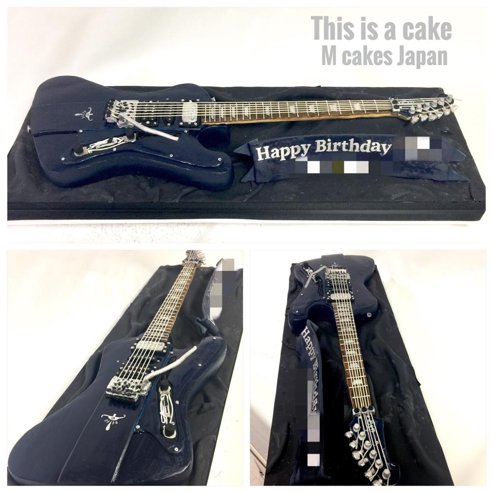 カスタムギター ケーキ🍰ESP LC-H LTD  #ギター #ギターケーキ #誕生日ケーキ #ギターリスト#アーティスト#ミュージック #サウンド #音楽 #バンド #guitarcake #artist #customguitars #esp #espltd #espguitars #guitarist #sound #music #guitar #electricguitar #cake #gateau #torte #🇯🇵 #handmadecake