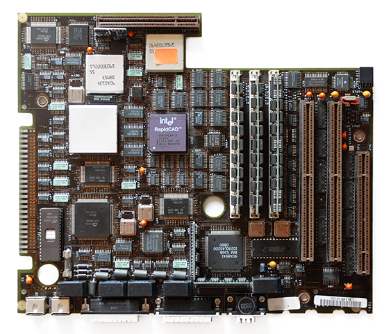 IBM PS/2 Model 70 (8570-121) MCA Motherboard with IBM 386 CPU and RapidCad-2 Coprocessor