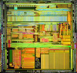 Cyrix 5x86-100 (the exact CPU!!) Die Picture by Pauli Rautakorpi - Published under the Creative Commons Attribution 3.0 Unported license. Slightly edited by HARDWARECOP.