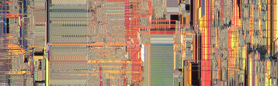 Motorola 68040 Die Photo by Pauli Rautakorpi.