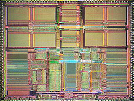 IDT R4600 (the 4700 is just a shrinked R4600) Die Picture by Pauli Rautakorpi - Published under the Creative Commons Attribution 3.0 Unported license. Slightly edited by HARDWARECOP.