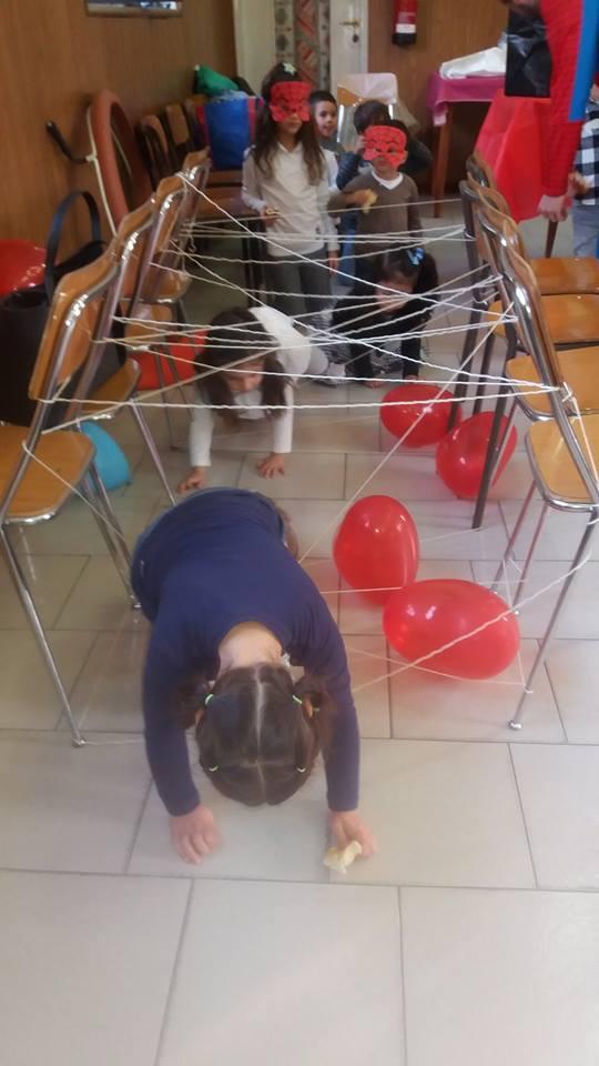 animazione festa compleanno bimbi tema spiderman