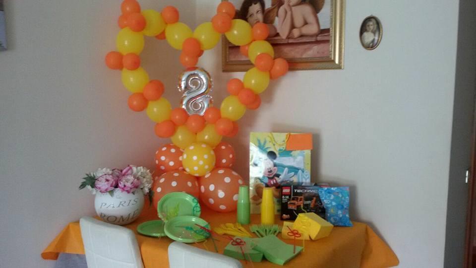 allestimento festa di compleanno