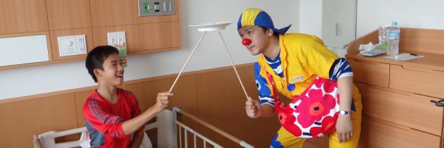 ホスピタル・クラウン|愛知県医科大学病院への訪問|2015.06.18