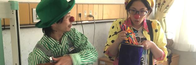 ホスピタル・クラウン|名古屋第二赤十字病院への訪問|2016.07.11