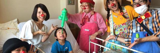 ホスピタル・クラウン|名古屋市立大学病院への訪問|2017.06.27