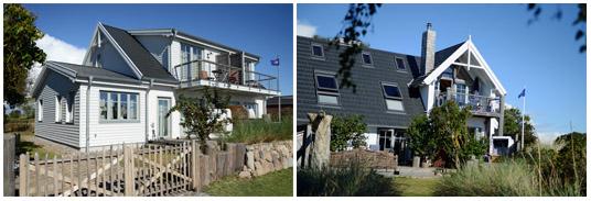 Ferienhaus Fehmarnsund Haus am Strand mit Meerblick