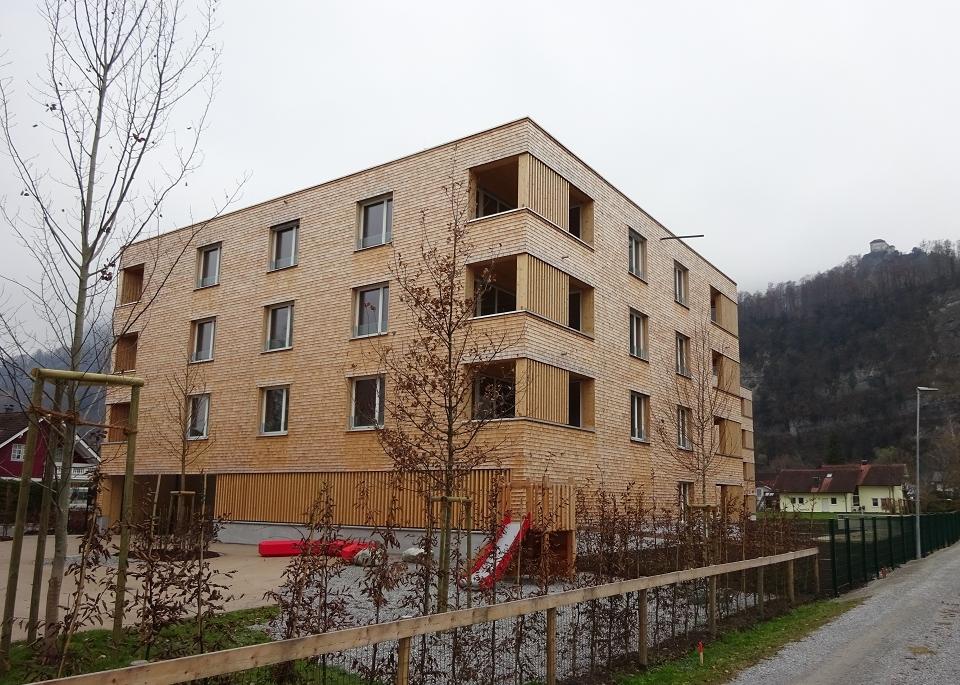 WA Hellbrunnenstraße Hohenems, Bauherr: Wohnbauselbsthilfe VLBG gemeinn. reg. Gen.m.b.H.