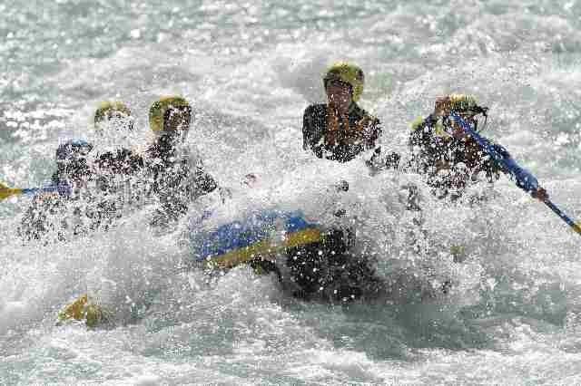 Rafting auf dem Inn