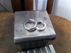 指輪の完成です