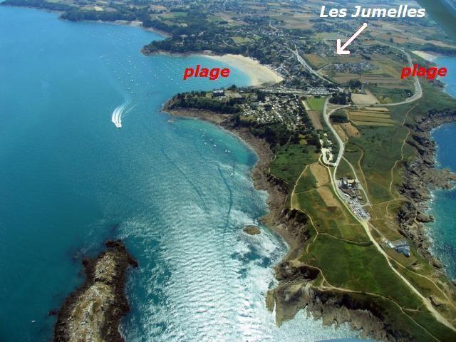 Vous irez facilement à pied à la plage de Port Mer ou à celle du Saussaye