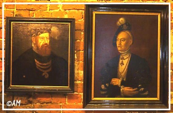Dorotheas Eltern: König Christian III. v. Dänemark und Dorothea v. Sachsen-Lauenburg