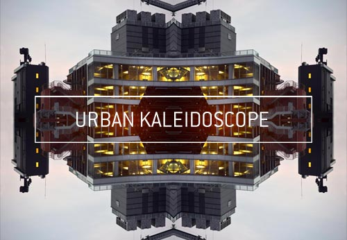Photographie d'art contemporain urban kaleidoscope