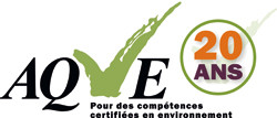 AQVE Association québecoise de vérification environnementale
