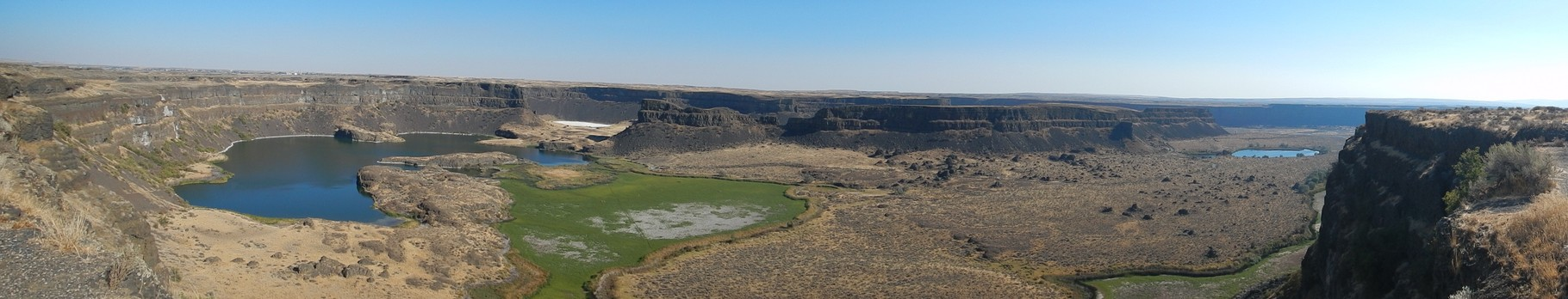Dry falls WA