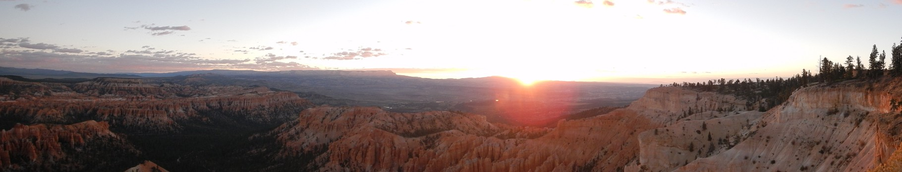 Sonnenaufgang über dem Bryce Canyon