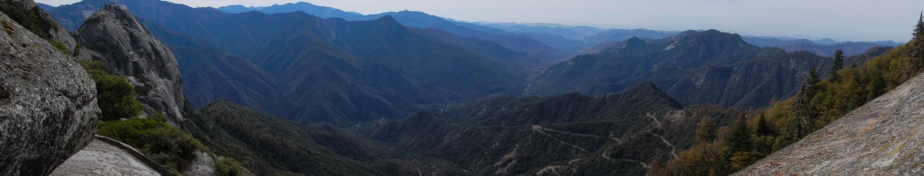 Aussicht auf die Sierra Nevada