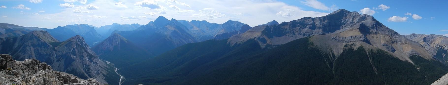 Top of Sulphur Mountain Jasper NP