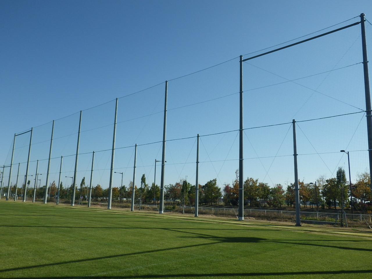 防球ネット嵩上げ プロジェクトMURAYAMA サッカー場