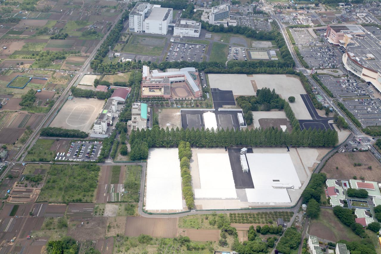 スポーツ祭東京2013あきる野市特設馬術競技場