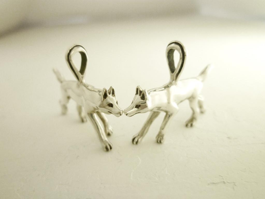 Wolf pendant head