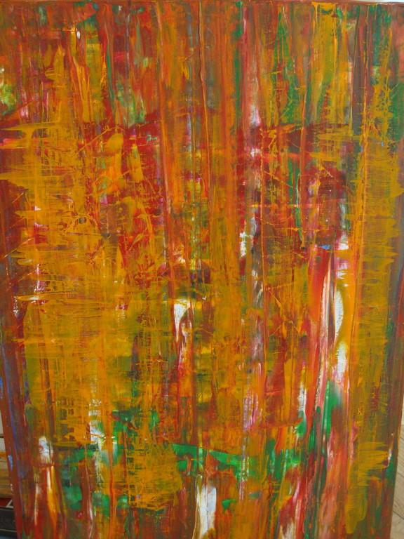 """Nr. 6 """"Burn"""" Acryl auf Leinwand 80 x 60"""