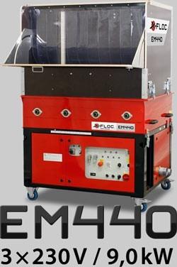 EM 440 3x230V / 9 kW Haberl Dämmtechnik