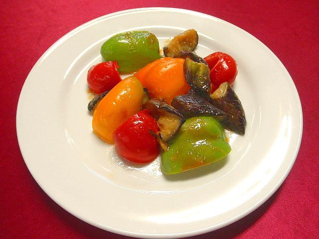 #夏野菜のグリル