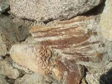 Le granite, roche volcanique